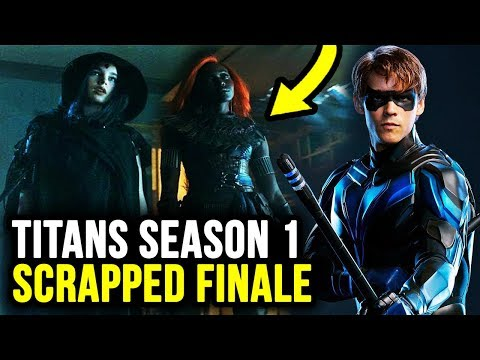 New Look at ORIGINAL Titans S1 Finale Reveals NIGHTWING & Doom Patrol!