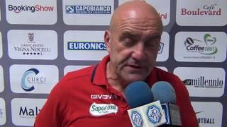 lega-pro-foggia-andria-allenatore-ospiti-favarin-contesta-arbitro-Sport