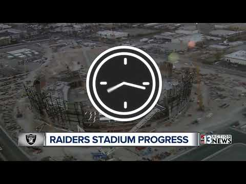 Raiders' Las Vegas stadium surpassing goals