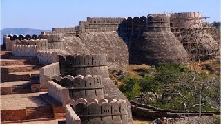 Kumbhalgarh India  city images : GREAT WALL OF INDIA MASSIVE STRUCTURE THAT SURROUNDS ANCIENT FORT OF KUMBHALGARH