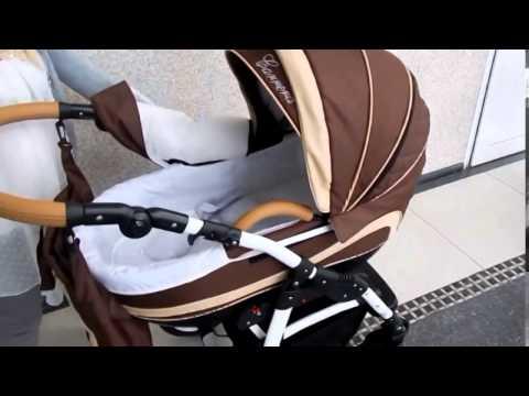 Классическая коляска Aneco Avinion цвет 5 (серый+беж)