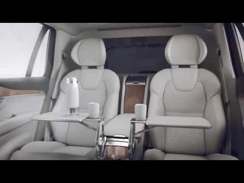 Boarding First Class: Presenting the Volvo XC90 Excellence