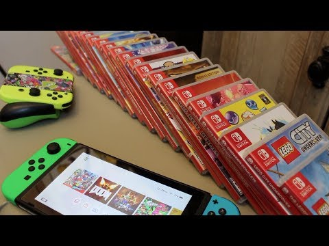The ULTIMATE Nintendo Switch Game Collection!!