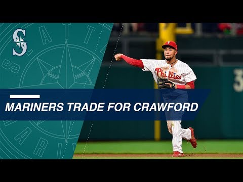 Video: Mariners acquire J.P Crawford in deal for Jean Segura