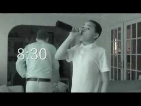 Alcohol abuse binge drinking advert