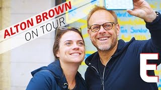 How Alton Brown Uses Drones To Sell Out Theaters - On Tour With Alton by Eater