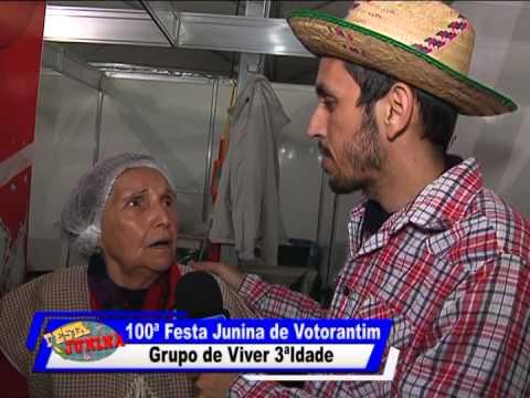 100ª Festa Junina de Votorantim - Grupo de Viver 3 idade