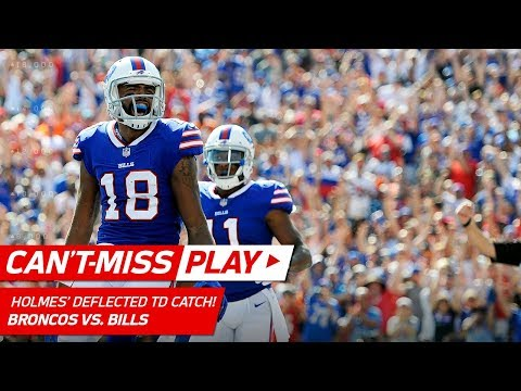 Video: Andre Holmes Brings in Crazy Deflected Pass to Cap Off TD Drive! | Can't-Miss Play | NFL Wk 3