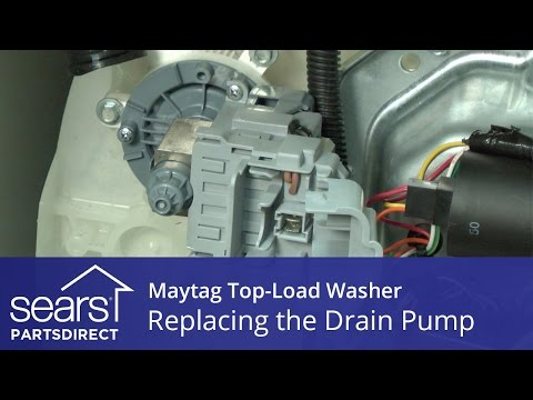 How to Replace the Drain Pump on a Maytag Vertical Modular Washer (VMW)