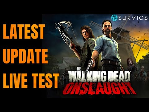 The Walking Dead ONSLAUGHT Update Live Gameplay
