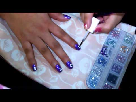 manicure flores -