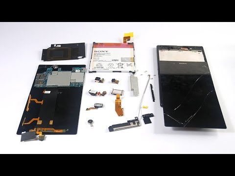 how to remove battery from sony xperia z ultra