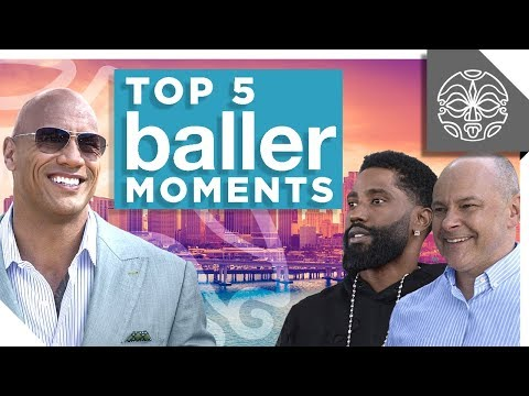 "The Rock's Favorite Moments from HBO's ""Ballers"""