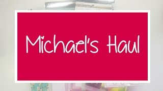 Michael's has a 50% off coupon until Father's Day! Watch to see what I brought home!