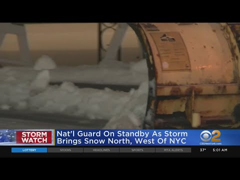 Storm Makes For Messy Commute As Tri-State Returns To Work