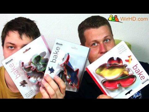 Dexam Bake 3D Ausstecher Unboxing - Weihnachtsplätzchen Idee