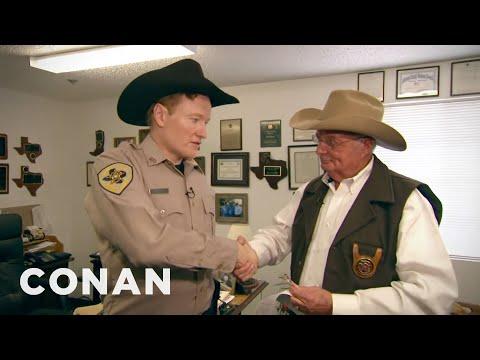 Conan policejním strážníkem