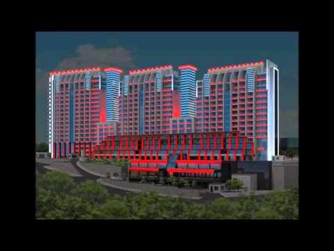 Azersun Gümüş Plaza - Aydınlatio   Mimari Aydınlatma Tasarımı