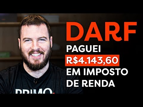 PAGUEI R$ 4.143,90 DE IMPOSTO DE RENDA NA BOLSA (fiz burrada?) | COMO PAGAR DARF NA PRÁTICA!