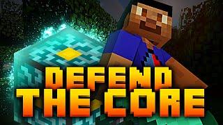 Minecraft *EPIC* DEFEND THE CORE with Vikkstar, PeteZahHutt, Tyler&Nooch (Minecraft PVP)