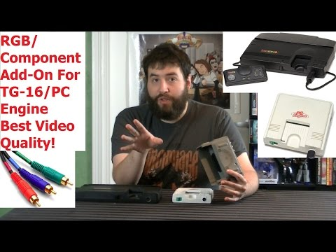 Gamerade - Turbografx 16 (PC Engine) - Best Possible Video Quality - Adam Koralik