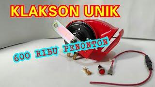 Klakson Keong Single 2 suara Anti air / 2 snail horn sound waterproof INER VARIASI MOTOR IVM KUDUS
