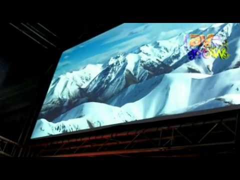ISE 2012: EIKI Demos 15,000 ANSI Lumen 2K Projector