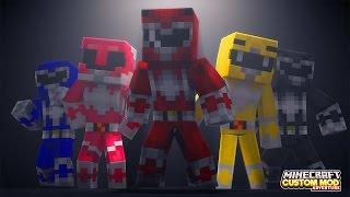 Video Minecraft - HOW TO BECOME A POWER RANGER - Custom Mod Adventure MP3, 3GP, MP4, WEBM, AVI, FLV Januari 2019
