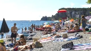 Trieste Italy  city photo : Sistiana Beach - Trieste Italy, Adriatic sea