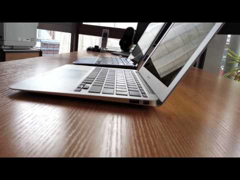 Samsung ATIV Smart PC *Compared with MacBook Air*
