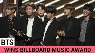 BTS Wins BIG At The Billboard Music Awards 2017 Video