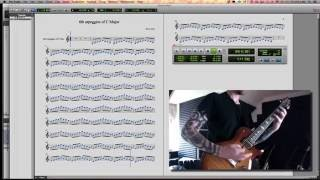 Guitar Tutorial & Exercise: Arpeggiated 6ths of C Major | FREE Download: https://drive.google.co