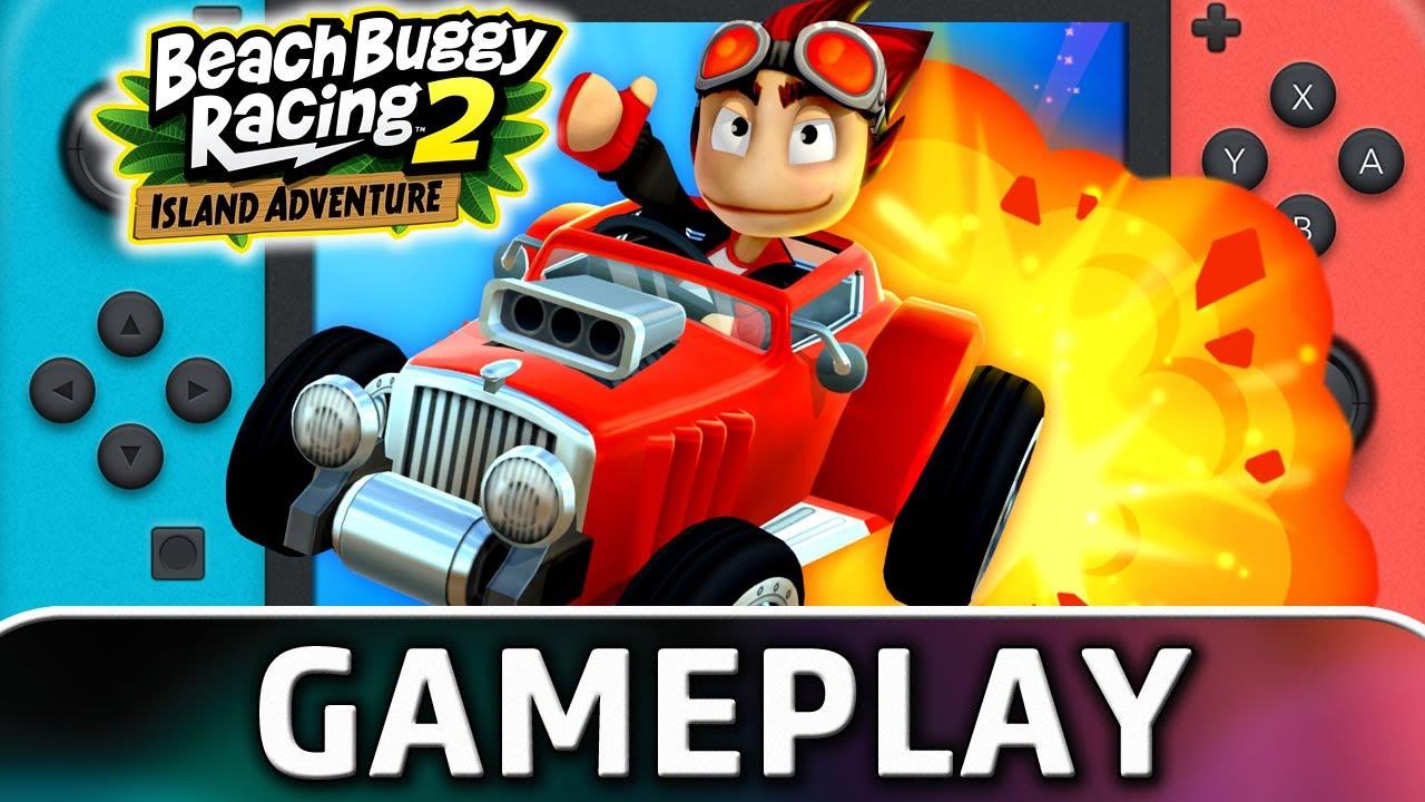 Beach Buggy Racing 2: Island Adventure | Nintendo Switch Gameplay