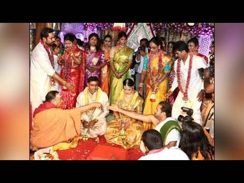Raadhika Sarathkumar' daughter Rayane marries cricketer Abhimanyu