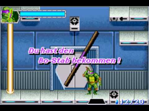 teenage mutant ninja turtles gba cheats
