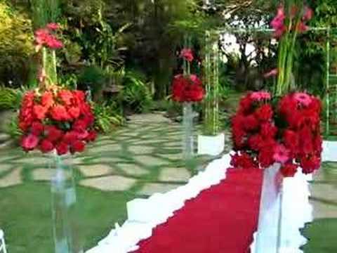 DECORAÇÃO DE CASAMENTO (cerimônia)