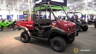 9. 2016 Kawasaki Mule 4010 EPS Utility ATV - Walkaround  -2015 Toronto ATV Show