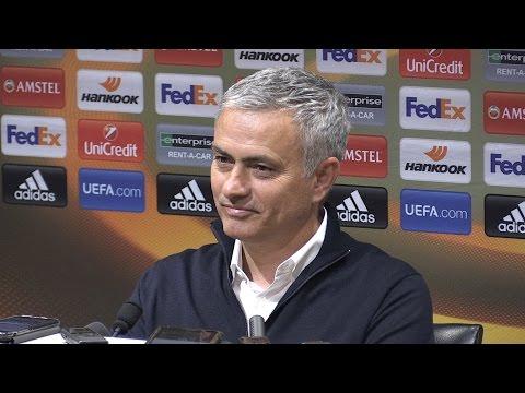 Manchester United 2-1 Anderlecht (Agg 3-2) - Jose Mourinho Full Post Match Press Conference (видео)