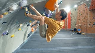 Crazy Moves - 2xV11 - V9 - Fredrik - A Classic Rampage by Eric Karlsson Bouldering