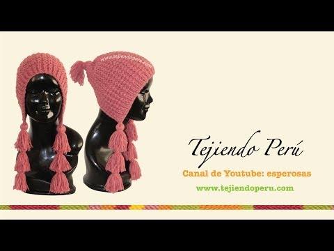 GORRO - Mira el fotos del paso a paso e instrucciones del gorrito aquí: http://goo.gl/QleRJO y en nuestra página web http://www.tejiendoperu.com/ encontrarás muchos ...