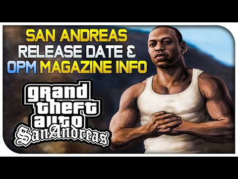 Magazine - GTA San Andreas 720p Version Release Date & OPM Magazine GTA 5 PS4 Info! [GTA V] Hope you guys enjoy :) ▷San Andreas Source: https://support.rockstargames.com/hc/en-us/articles/204078933 ...