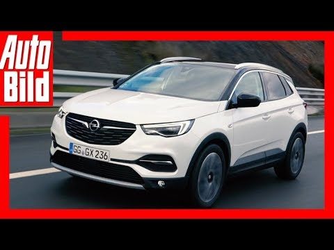 Opel Grandland X (2017) Fahrbericht/Test/Erklärung/ ...