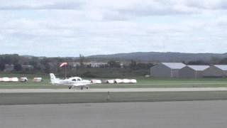 Cirrus Aircraft SR-20 Takeoff RWY 10   N690CD   Osceola Wisconsin