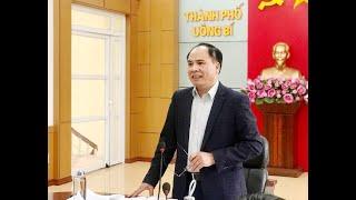 Cho ý kiến vào dự thảo Báo cáo chính trị trình Đại hội Đảng bộ thành phố lần thứ XX