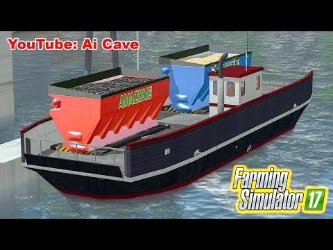 Pack Ferry for Mining & Contruction Economy map v0.1