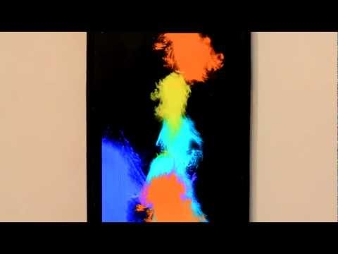 Video of Colour Warp live wallpaper