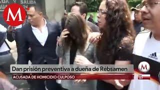 Dan prisión preventiva a directora del Rébsamen