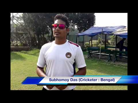 subhomoy - ' www.seven20hours.com ' brings you an EXCLUSIVE VIDEO of Subhomoy Das a known face of the Bengal Cricket. Lets see what he has to say.