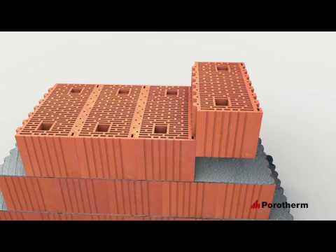10 преимуществ керамических блоков Porotherm от Wienerberger