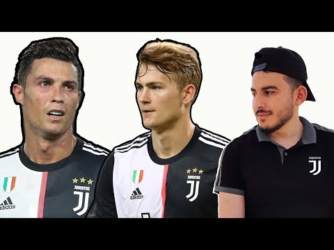 Juventus Dream Team 2019/2020 Ft I De Ligt, Pogba , Ronaldo